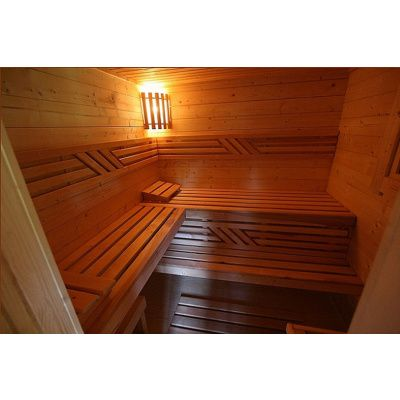 Afbeelding 5 van Azalp Saunabank recht, Elzen breedte 70 cm