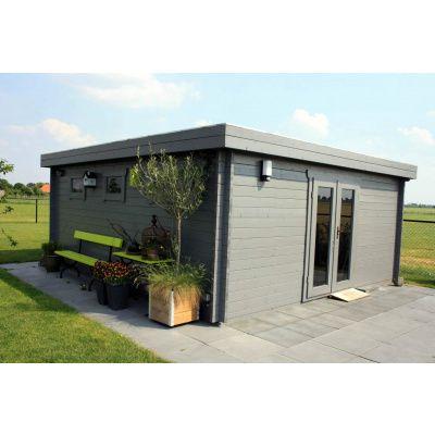 Bild 2 von Azalp Blockhaus Ingmar 596x300 cm, 45 mm