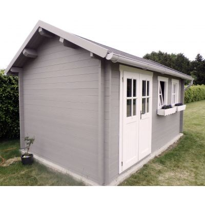 Bild 10 von Azalp Blockhaus Lynn 400x300 cm, 45 mm