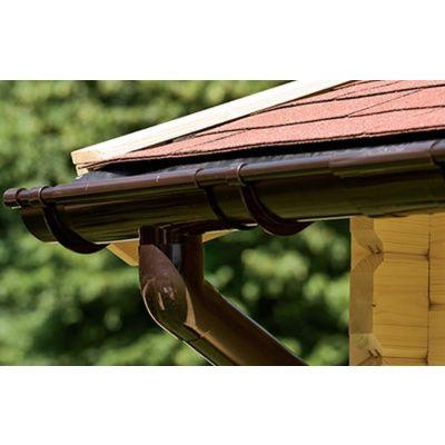 Bild 5 von Azalp Dachrinnenset DELUXE 800 cm (dunkelbraun, grau oder weiss)