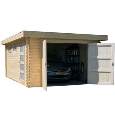 Afbeelding 8 van Azalp Garage Thijs 500x800 cm, 45 mm Modern
