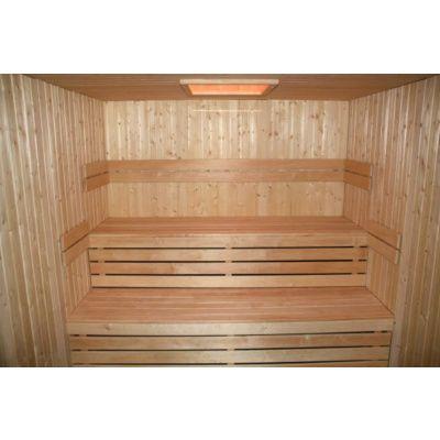 Afbeelding 22 van Azalp Sauna rugleuning Lumen, Elzen