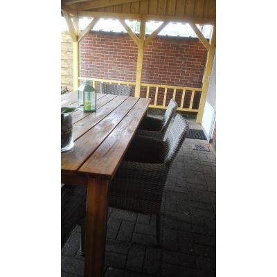 Afbeelding 20 van Azalp Houten veranda 550x250 cm