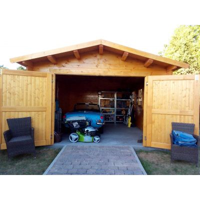 Afbeelding 35 van Azalp Garage Thijs 300x500 cm, 45 mm