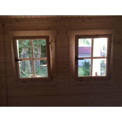 Bild 8 von Azalp Blockhaus Lynn 450x450 cm, 30 mm