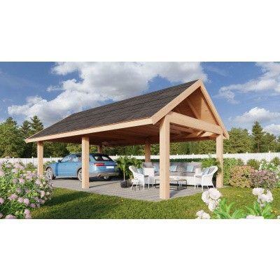Hauptbild von WoodAcademy Citrien Excellent Douglasie Überdachung 400x400 cm