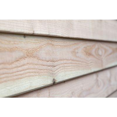 Afbeelding 3 van WoodAcademy Graniet excellent Douglas blokhut 400x400 cm