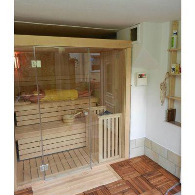 Afbeelding 39 van Azalp Sauna rugleuning Lumen, Elzen
