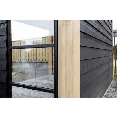 Afbeelding 6 van WoodAcademy Moonstone Excellent Nero Overkapping 400x400 cm
