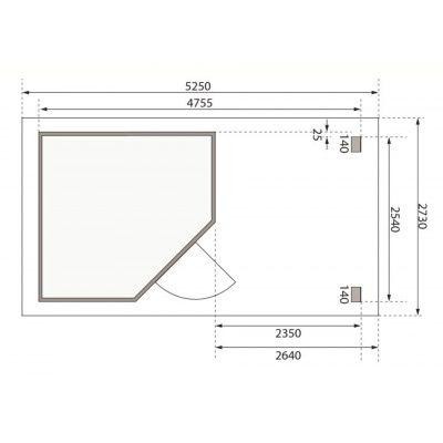 Afbeelding 2 van Woodfeeling Neuruppin 2 met veranda (77770)