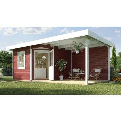 Hoofdafbeelding van Weka Designhuis 213B Gr.1, 541x238 cm Zweeds rood