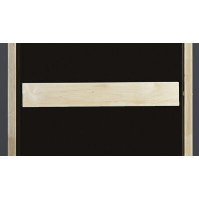 Afbeelding 3 van Ilogreen Saunadeur Classic (Elzen) 69x209 cm, bronsglas