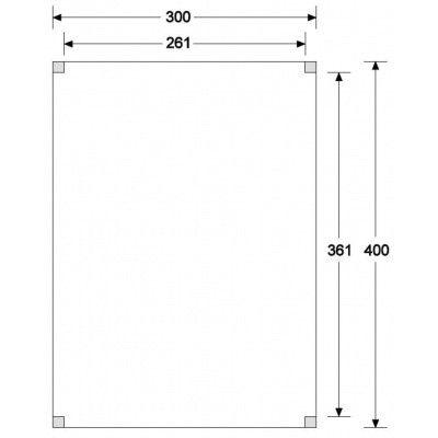 Afbeelding 6 van WoodAcademy Graniet excellent Nero blokhut 300x400 cm