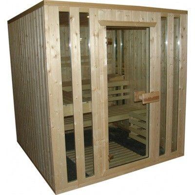 Afbeelding 14 van Azalp massieve sauna Alku 194x173 cm, 40 mm