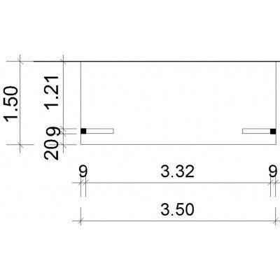 Afbeelding 37 van Azalp Deluxe zijdak 150x350 cm (O)