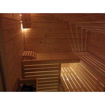 Afbeelding 3 van Azalp Sauna hoofdsteun Abachi (A-H0003)
