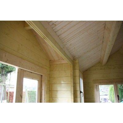 Bild 7 von Azalp Blockhaus Essex 450x450 cm, 30 mm