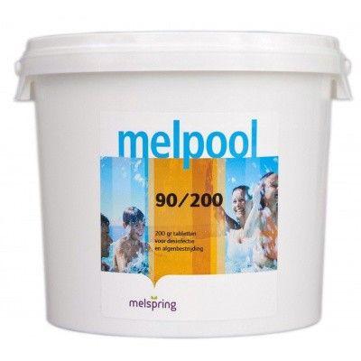 Hoofdafbeelding van Melpool 90/200 grote Chloortabletten - 5 kg