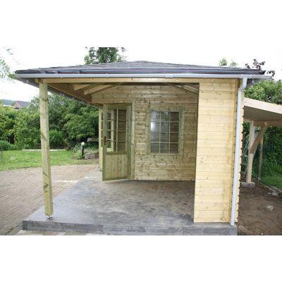 Bild 10 von Interflex Blockhaus 4355 Z, Seitendach 450 cm