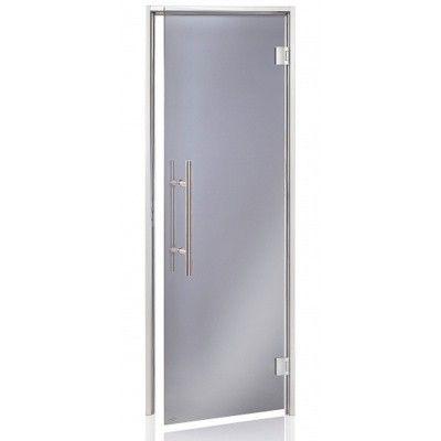 Hoofdafbeelding van Hot Orange Stoombad deur Au Premium 80x210 cm, grijs