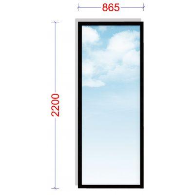 Afbeelding 4 van WoodAcademy Zijwand 86,5x220 cm Glas