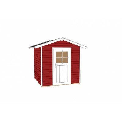 Afbeelding 3 van Weka Tuinhuis 223 Gr. 1 Zweeds rood