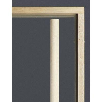 Afbeelding 7 van Ilogreen Saunadeur Exclusive (Elzen) 79x189 cm, helderglas