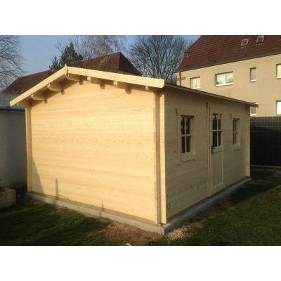Bild 7 von Azalp Blockhaus Mona 350x400 cm, 30 mm