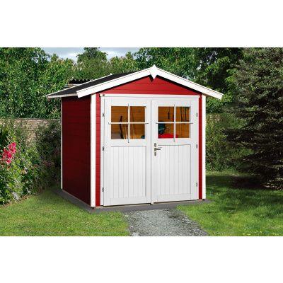Hoofdafbeelding van Weka Tuinhuis 224 Gr. 1 Zweeds rood