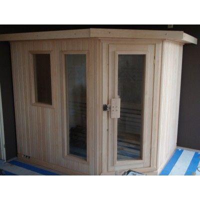 Afbeelding 5 van Azalp Dakrand voor sauna Classic elzen/espen*