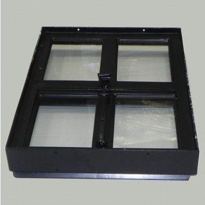 Afbeelding 3 van Azalp Stalen openklapbaar raam (onderste deel), 300x400 mm