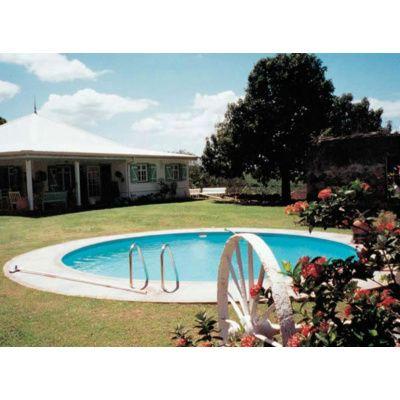 Afbeelding 3 van Trend Pool Ibiza 420 x 120 cm, liner 0,8 mm