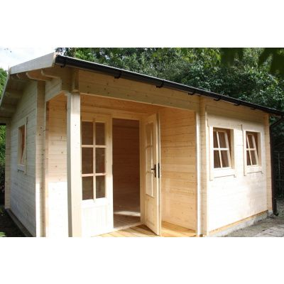 Afbeelding 37 van Azalp CLASSIC blokhut Cottage Style Cumberland 520x430 cm, 45 mm
