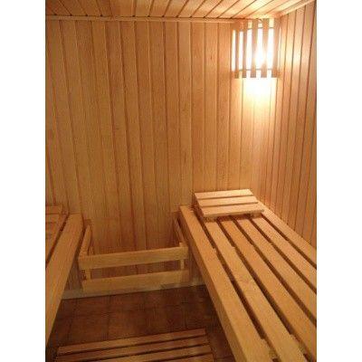 Afbeelding 38 van Azalp Saunabank recht, Elzen breedte 40 cm