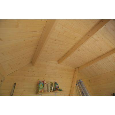 Bild 3 von Azalp Blockhaus Kent 250x250 cm, 30 mm