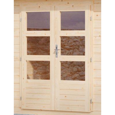 Afbeelding 3 van Woodfeeling Bastrup 1 met veranda 300 cm (91529)