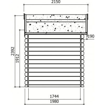 Afbeelding 2 van Solid Laval S815-1, Hoge druk geïmpregneerd