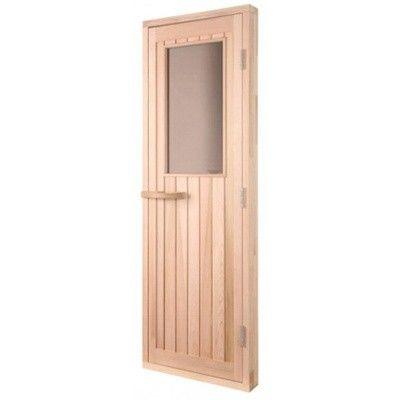 Bild 2 von Sawo Saunadeur hout met venster 205x69 cm (735-4SCD)