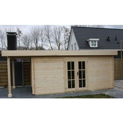 Bild 11 von Azalp Blockhaus Sven 350x350 cm, 45 mm
