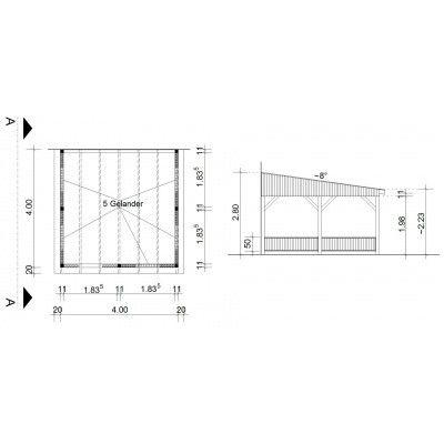 Afbeelding 34 van Azalp Houten veranda 400x400 cm