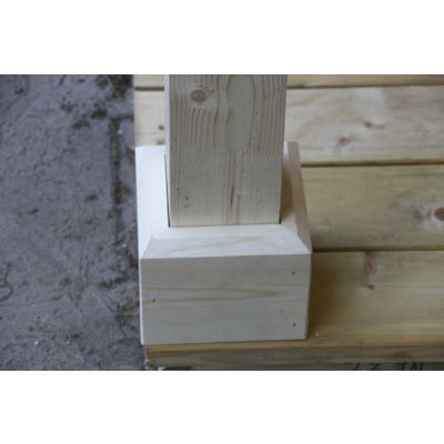 Afbeelding 47 van Azalp CLASSIC blokhut Cottage Style Cumberland 520x430 cm, 45 mm
