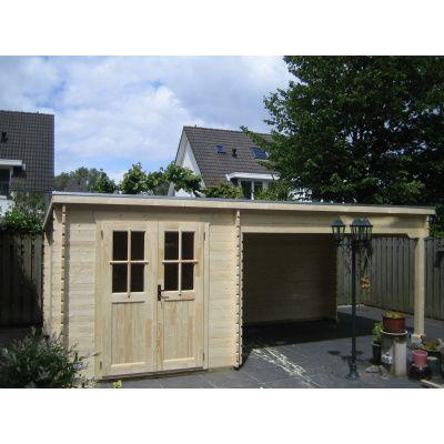 Bild 16 von Azalp Blockhaus Sanne 600x250 cm, 30 mm