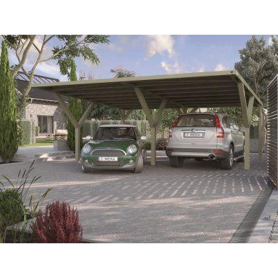 Hoofdafbeelding van Weka Y-carport 612 Dubbel