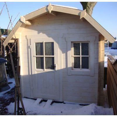 Bild 11 von Azalp Blockhaus Kent 250x250 cm, 30 mm