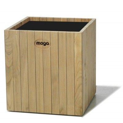 Hoofdafbeelding van Moga Altro Plantenbak Vierkant 60 cm Esdoorn