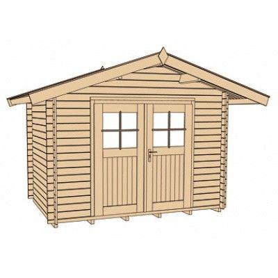 Bild 3 von Weka Gartenhaus Premium28 Gr. 5 mit Vordach