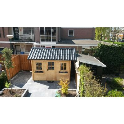 Bild 33 von Azalp Blockhaus Lis 350x350 cm, 30 mm