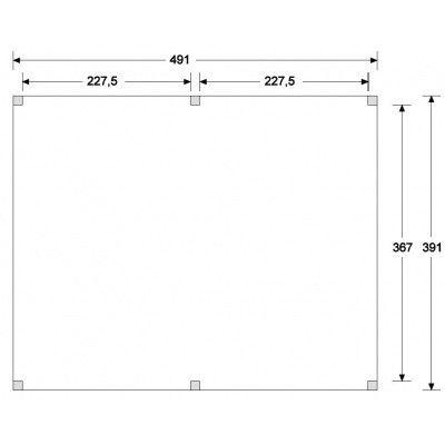 Afbeelding 6 van CarpGarant Overkapping Douglas Excellent 500x400 cm (137240)