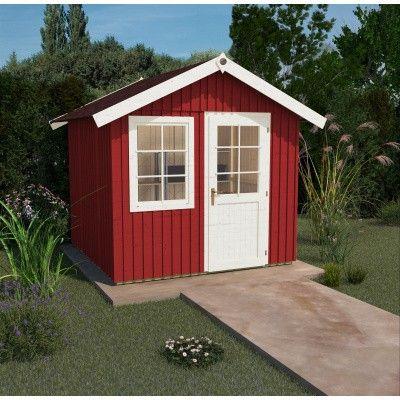 Hoofdafbeelding van Weka Zweeds huis 410 Gr. 4 Zweeds rood