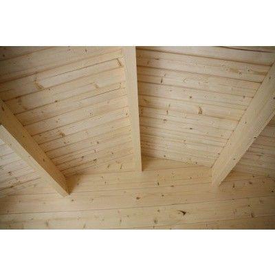 Bild 22 von Azalp Blockhaus Mona 350x400 cm, 30 mm